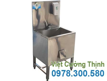 Bồn rửa tay inox công nghiệp CR-39 chất lượng