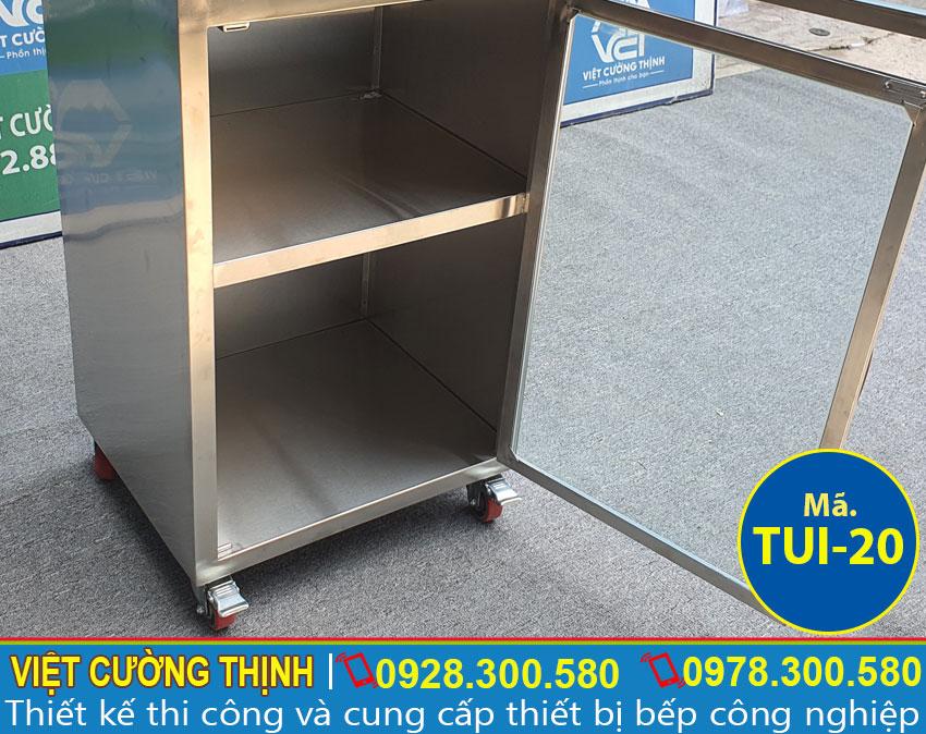 Ngăn tủ inox chứa đồ TUI-20