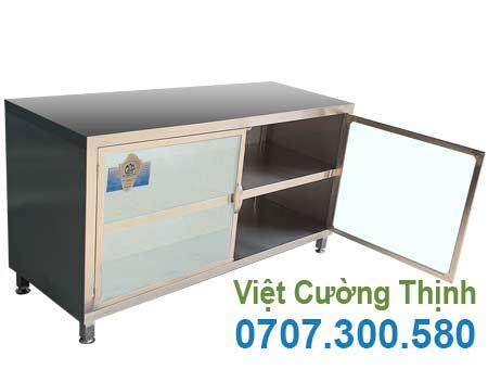 Tủ inox chứa đồ TUI-19
