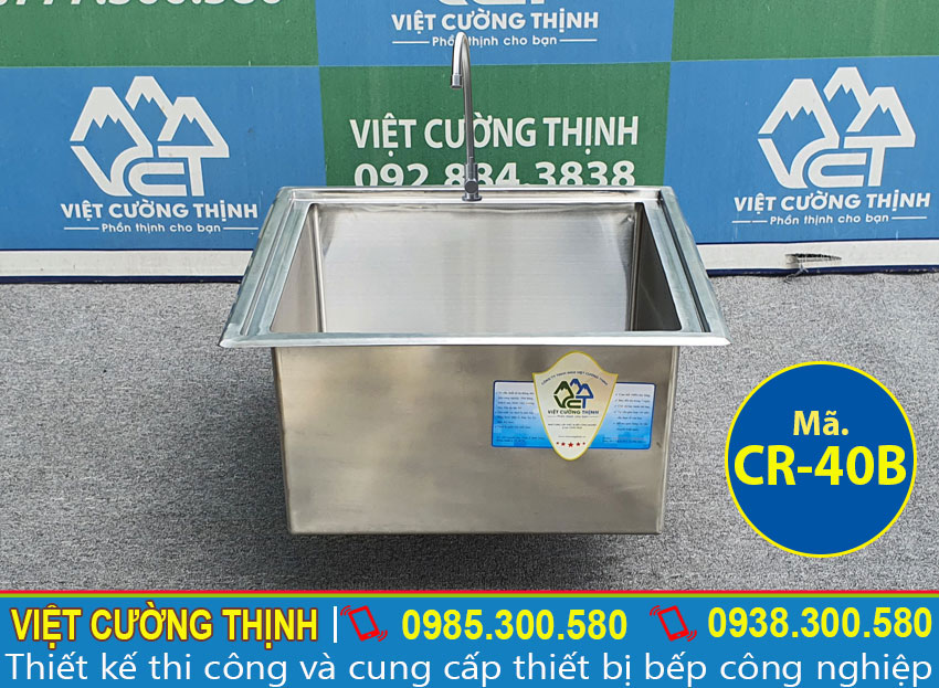 Bồn rửa 1 hộc CR-40B chất lượng cao
