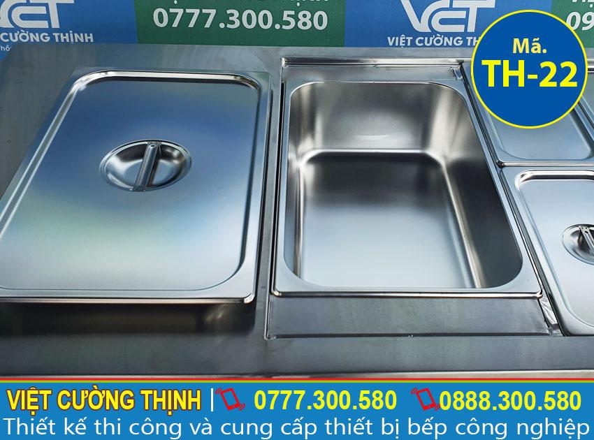 Khay GN của tủ hâm nóng thức ăn 13 khay TH-22