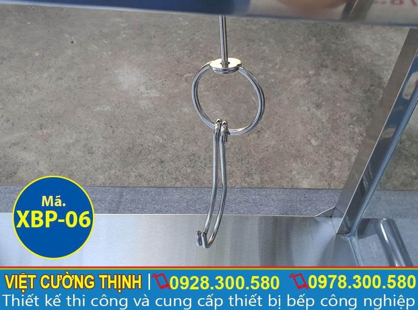 Móc inox treo đồ XBP-06 chất lượng cao