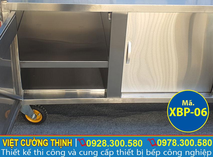 Tủ để đồ của xe bán phở XBP-06